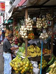 Tramo frutas